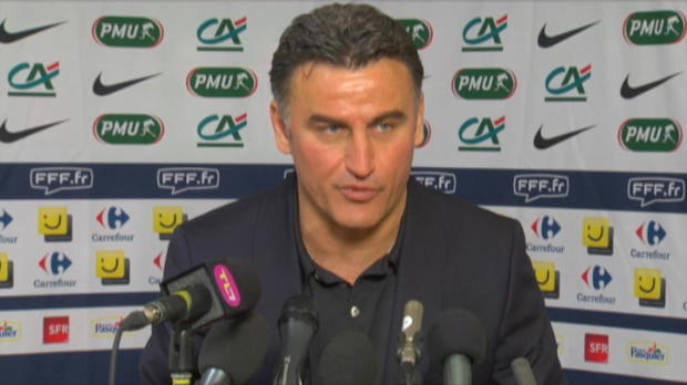 CDF - ASSE, Galtier : 'D�ception et frustration'
