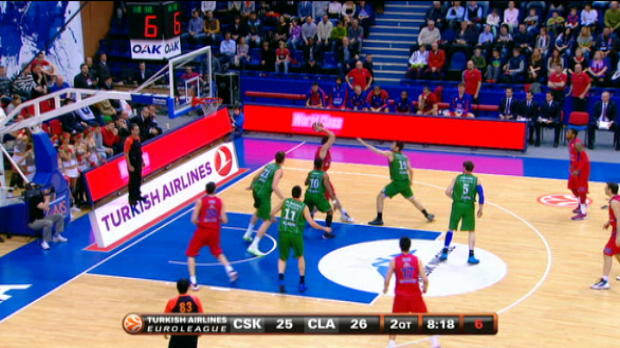 Video - Euroleague : Top 5 dunks