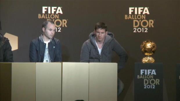 FIFA Ballon D'Or - Messi refuse la comp�tition avec Ronaldo