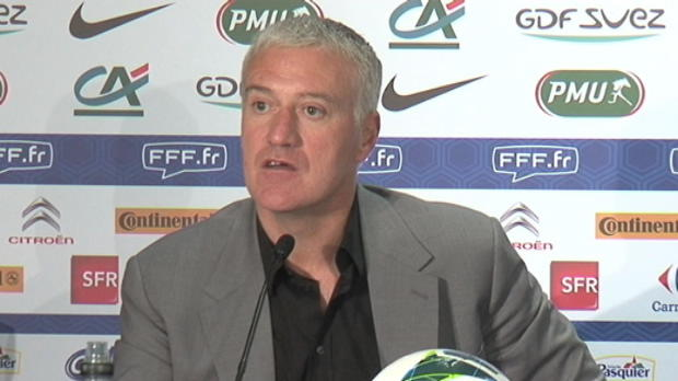 Bleus - Deschamps : 'Varane, c'est logique'