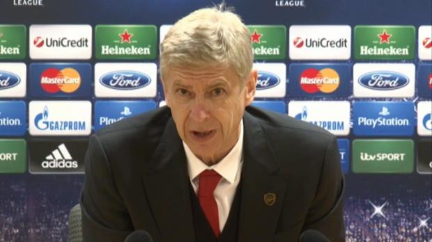 LDC - Groupe F : Arsenal, Wenger : 'Nous avions le contr�le du match'