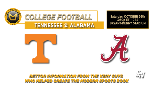 Tennessee @ Alabama