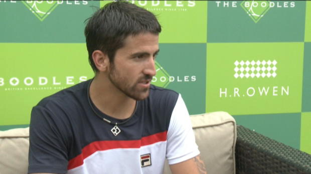 Tennis / News - Wimbledon - Tipsarevic s'habitue au gazon
