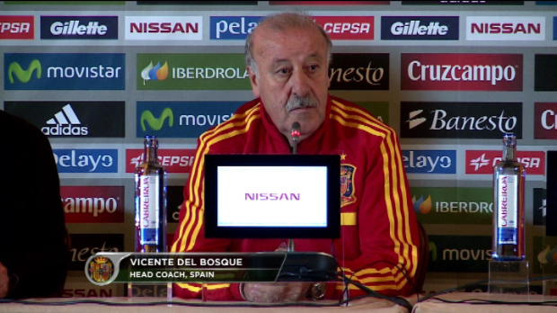 Qualif CDM 2014 - Espagne, Del Bosque : 'La France, un bon amalgame'