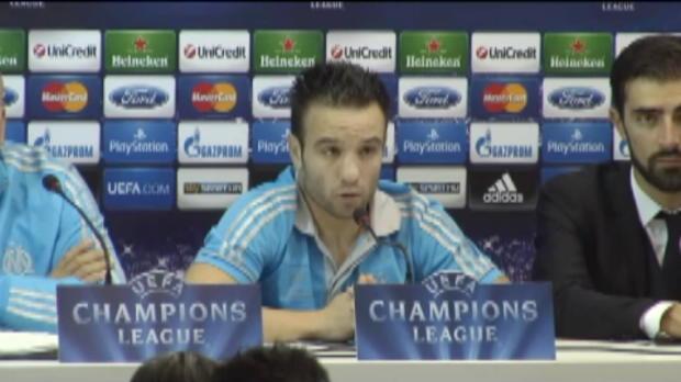 LDC - OM, Valbuena : 'On peut �lever notre niveau de jeu'
