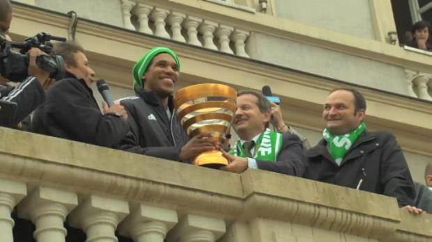 CDL - Finale, Le peuple Vert est � la f�te