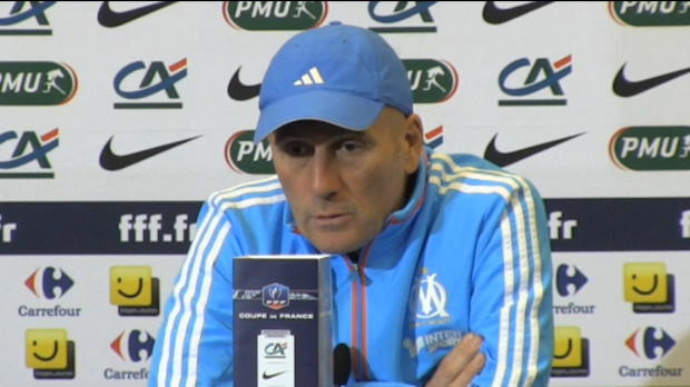 CDF - OM, Baup : 'On retient la qualification'