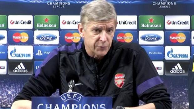 LDC - Groupe B, Wenger : ''Un match ouvert''