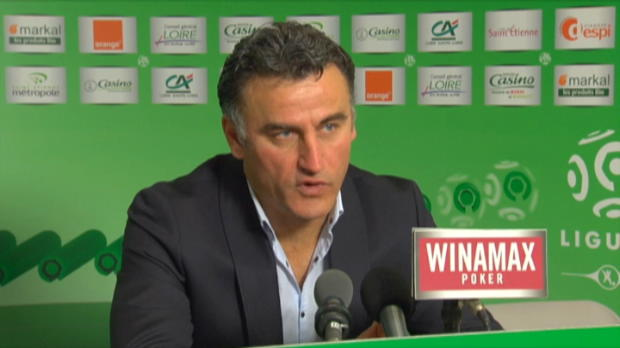 ASSE - Galtier et la progression d'Hamouma
