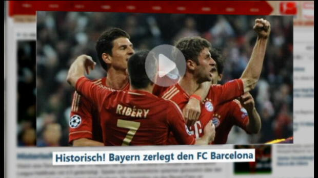 LDC - Demi-finale, La presse internationale salue le Bayern