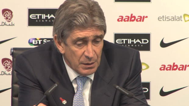 P.League - Man City, Pellegrini : '�tre au top avant la fin de l'ann�e'