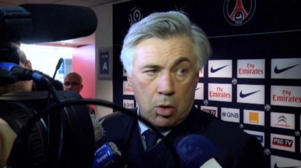 PSG - Ancelotti : 'Un probl�me d'attitude'