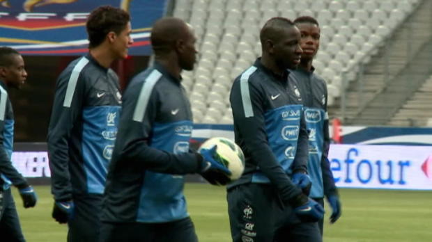 Bleus - D'abord, battre la Gorgie