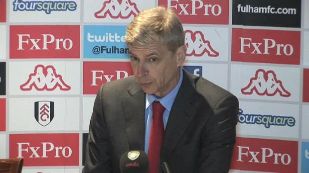 P.League - 34�me journ�e, Wenger : '10 minutes stressantes'