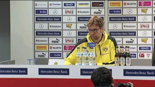 Bundesliga - 27e  : Klopp - 'On s'attendait � un match difficile'