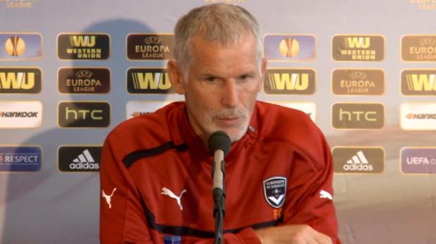 L.Europa - Groupe F : Girondins, Gillot : 'La priorit�, c'est le championnat'