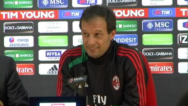 Serie A - 31�me journ�e, Allegri : 'Un Milan diff�rent'