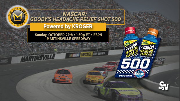 NASCAR Goody's Headache Relief Shot 500
