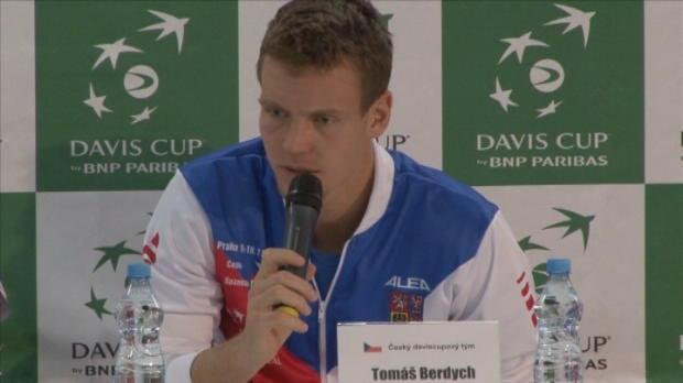 NEWS - Coupe Davis - La R�publique Tch�que se tient pr�te