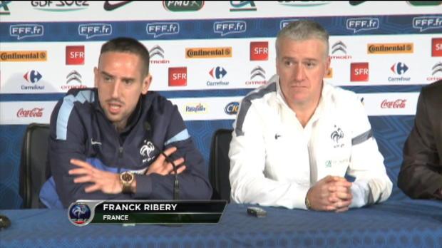 Bleus - Ribry : ''Pour nous, c'est srieux...''