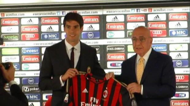 Foot Transfert, Mercato Milan AC - Kaka de retour et ambitieux
