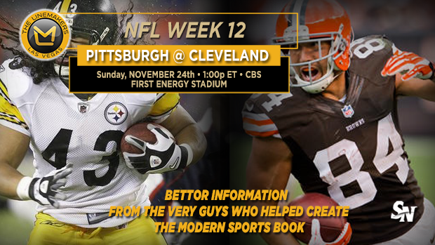 Steelers @ Browns
