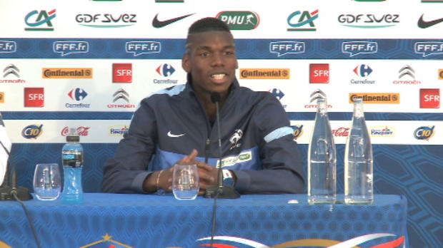 Bleus - Pogba - 'Une fiert d'tre ici'
