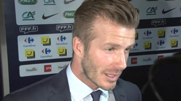 CDF - 8me de finale, Beckham a apprci