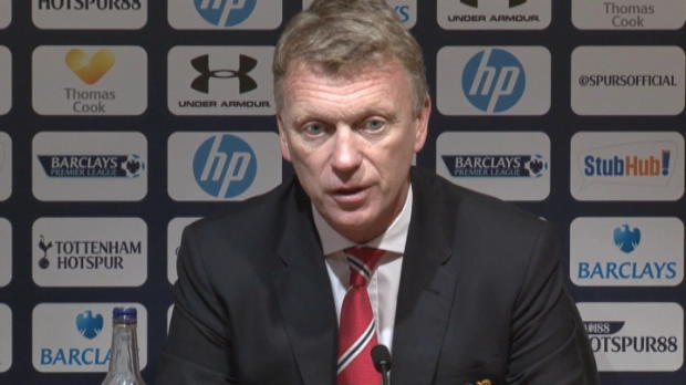 P.League - Man Utd, Moyes veut bien finir 2013