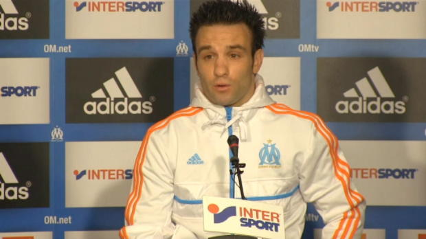 OM - Valbuena pr�f�re 'les points au beau jeu'