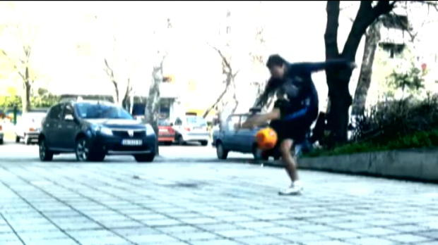 Gnral - Le football en mode freestyle