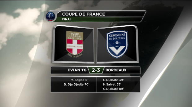 CDF - Bordeaux au bout du suspens
