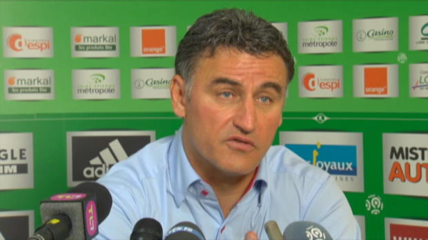 "Foot : ASSE - Galtier : ""3ème? On ne vas pas se priver"""
