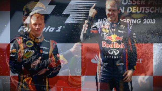 Vettel wins on home soil