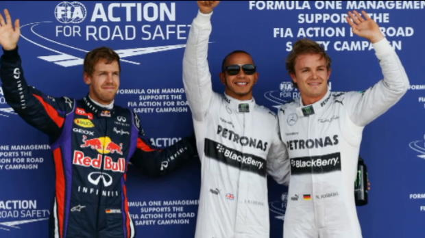 Hamilton on pole for British Grand Prix