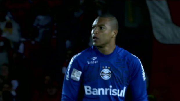 Video - Copa Libertadores, Dida a toujours ses rflexes