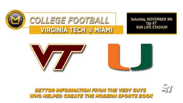 Virginia Tech @ Miami