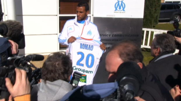 Foot Transfert, Mercato OM - Baup : 'Romao a du caract�re'