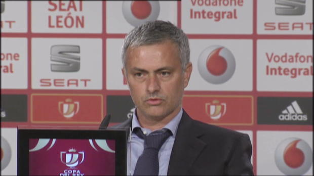 Coupe du Roi - Mourinho : 
