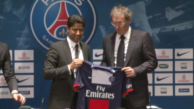 Foot Transfert, Mercato PSG - Laurent Blanc pr�sent� officiellement