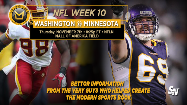 Redskins @ Vikings