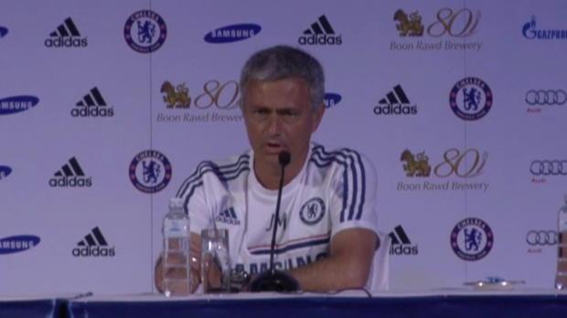Foot Transfert, Mercato P.League - Chelsea, Mourinho 'tr�s satisfait' de l'effectif actuel