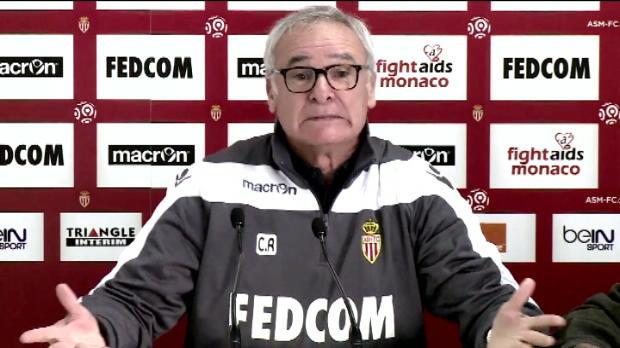 ASM - L'explication th��trale de Ranieri