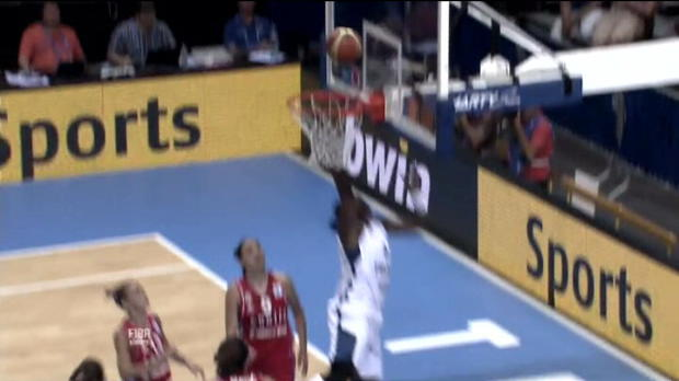 Video - Basket, Euro (F) : Top 5 des actions