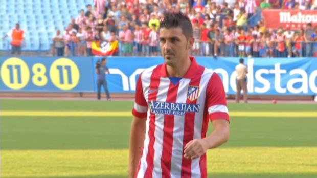 Foot Transfert, Mercato Liga - Atletico Madrid, Villa pr�t � remplacer Falcao