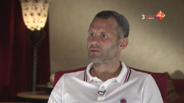 P.League - Man United, Ferguson, Giggs : 'Difficile de le remplacer'