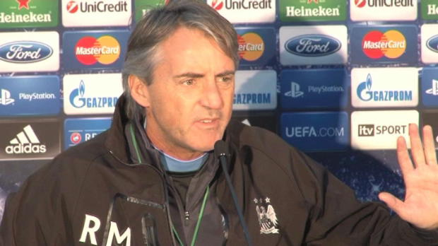 Man City - Mancini passablement nerv