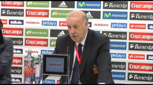 Qualif CDM 2014 - Del Bosque : ' Aller en France pour gagner'