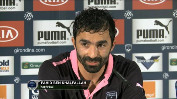 Girondins - Ben Khalfallah : 'La tte  l'endroit'